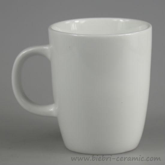 3oz To 16oz More Size Volume Available Plain White Custom Design Tea Coffee Mug Porcelain Mugs