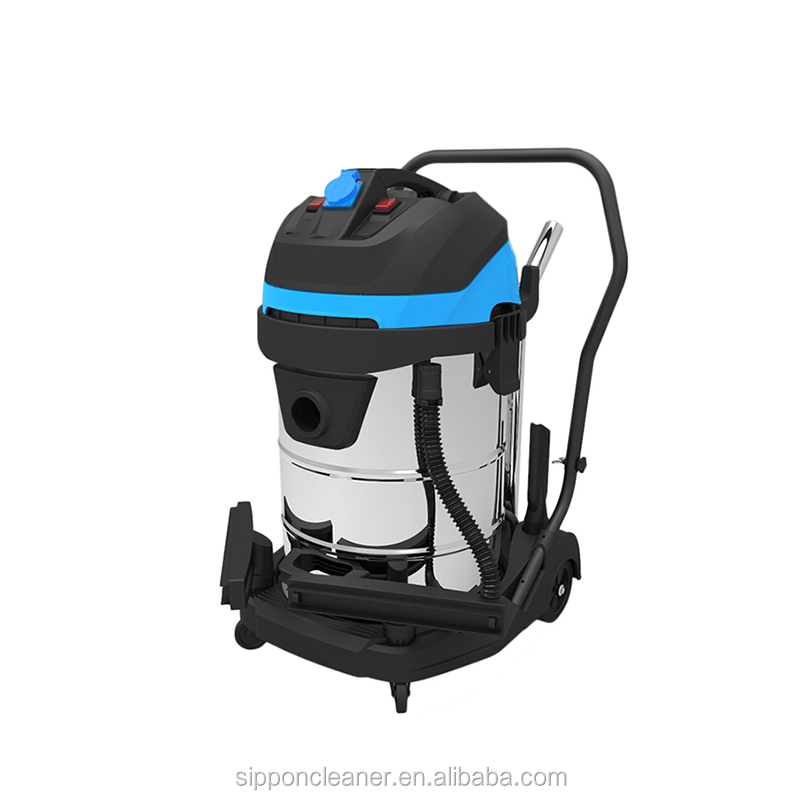 heavy duty large industrial steam wet and dry vacuum cleaner