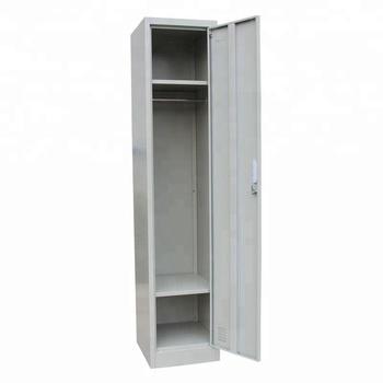 Single Door Steel Locker Cabinet 1 Tier Gym Metal Locker Buy Cheap Gym Metal Locker Single Door Metal Storage Cabinet Steel Lockers Cabinets Product On Alibaba Com