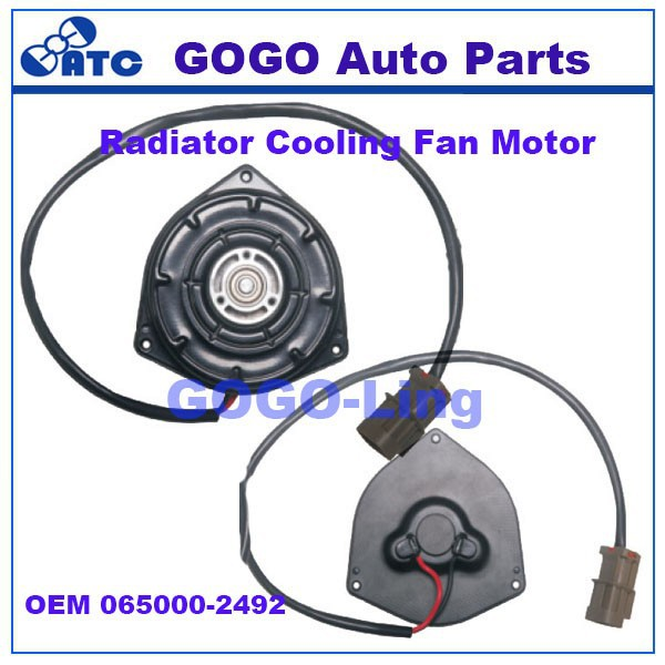 GOGO 12v dc electric fan motor for Honda OEM 065000-2492
