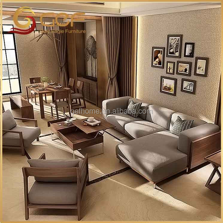 Simple Wooden Sofa Set Design, Simple Wooden Sofa Set Design Suppliers And  Manufacturers At Alibaba.com