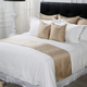 Luxury Designs Wholesale Sateen Fitted 100% Egyptian Cotton 1000Tc Linen White Hotel Bed Sheet