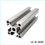 V slot 20x20mm 3D printer silver black Anodized 2020 aluminum extrusion profile manufacturer from china