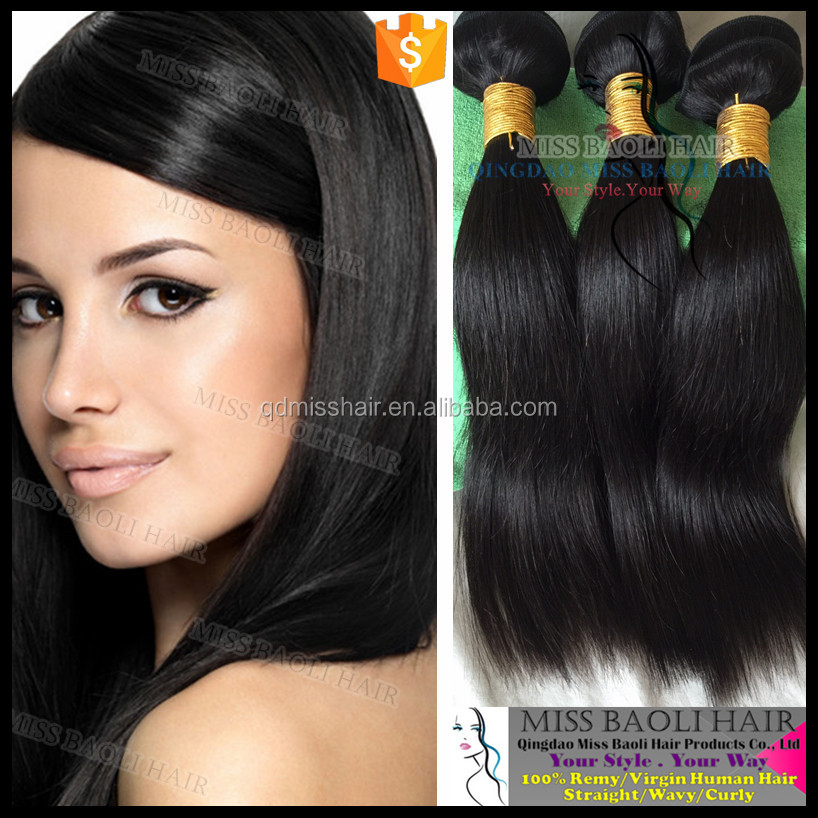 Wholesale Factory Price Cuticles 100% Virgin Hair 2016 Best Selling Permanent Hair Extensions