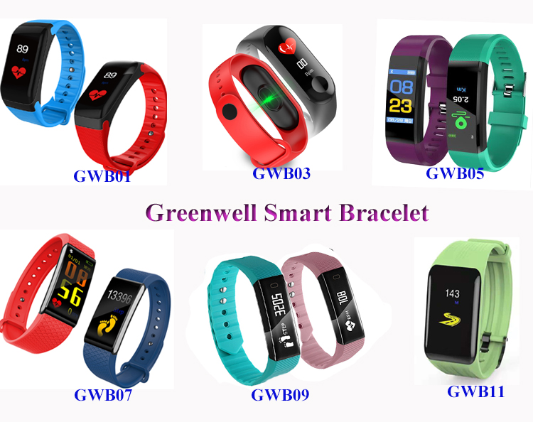 OEM Kids Waterproof Sports Healthy Color Fitness Wrist Smart