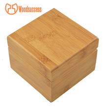 Luxury Gift Wooden Lacquered Custom Logo Personalized Bamboo Wood Watch Box