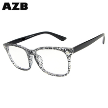 AZB New design Eyeglasses Frames square vogue glasses charm eyeglasses with low price