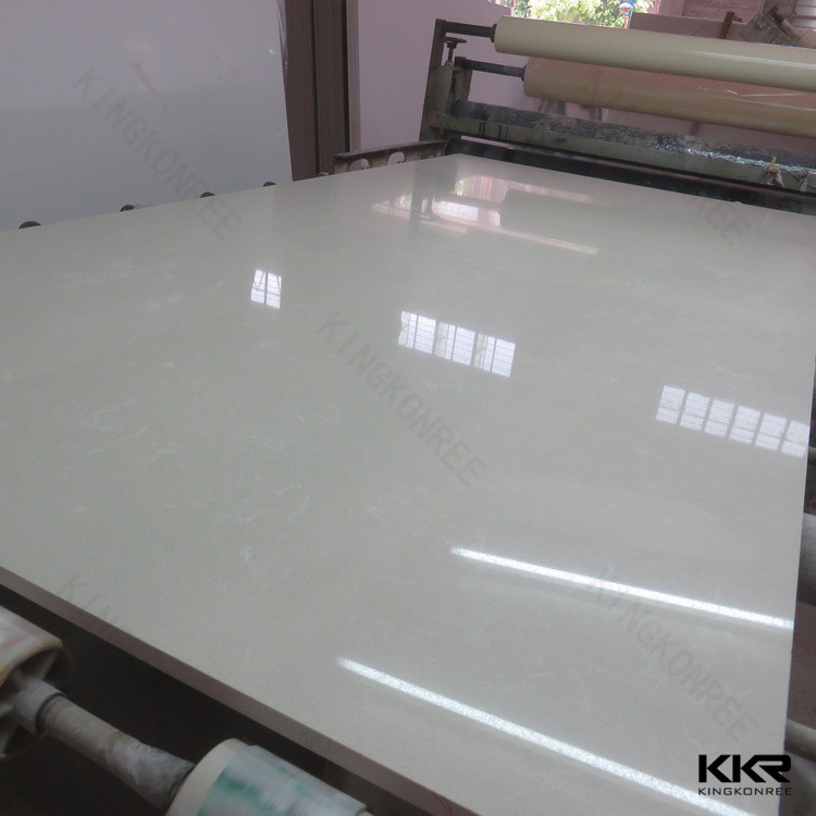 aluminum composite thin natural quartz stone slab for sales