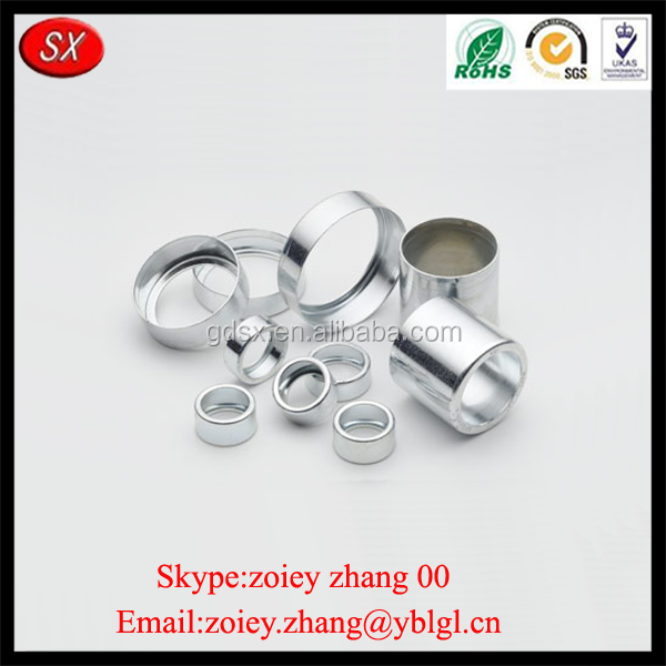 China Manufacture Customized Made Metal Plating Deep Drawn Metal Stamping Parts