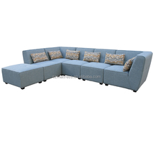 Hot Sale Home Furniture L Shape Fabric Sofa Sets for Living Room