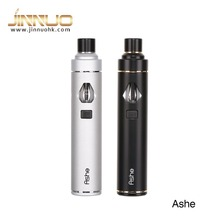 Hot pen style electronic cigarette, popular shenzhen vaporizer, Jinnuo Ashe AIO with refillable atomizer