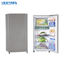 95L recessed handle mini refrigerator with freezer
