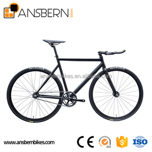 Hot Selling 700C 6061 Aluminum Aero Fixie Bike ASB-FG-A04B spider-net chopper bicycle