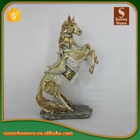 2017 Desktop Resin Horse Statue Miniature Animals Wholesale Polyresin Figurine