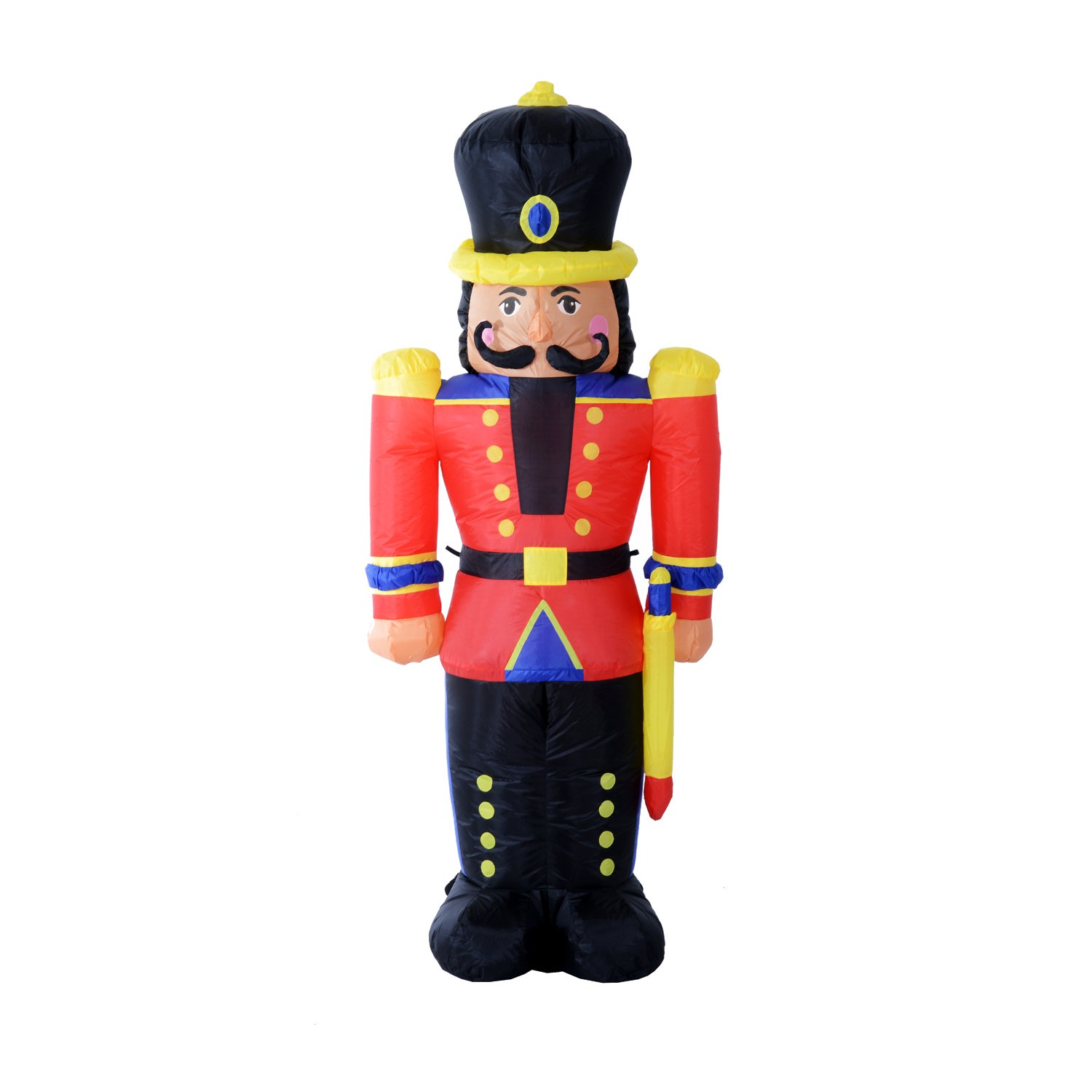 Nutcracker - lighted - lacquer paint in Toy Soldiers ...   Lighted Nutcracker Soldier