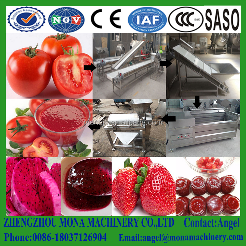 Mango Strawberry tomato peeling pitting pulping machine with wholesale price