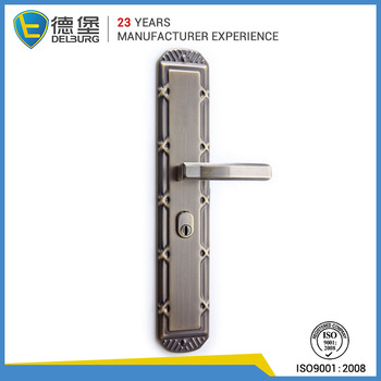 German hardware bronze square stainless steel lever door for Door handle in german