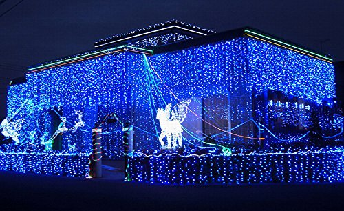Get Quotations Jiangzhi Led String Lights 5m 120leds Outdoor Indoor Window Curtain Icicle Fairy Light Wedding
