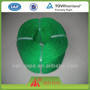 Plastic PP PE fishing net twine and rope manila rope twine machine