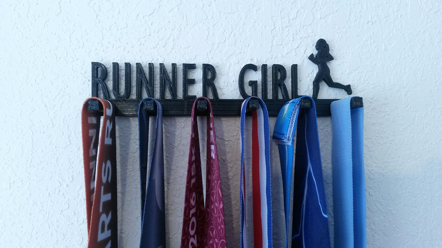 Runner Girl Running Marathon Sports Medal Display Medal Rack Medal Holder Medal Hanger