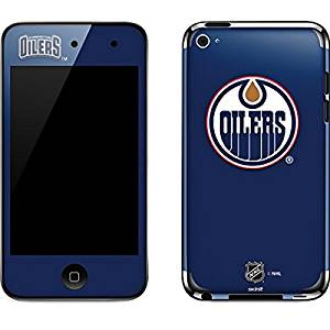 NHL Edmonton Oilers iPod Touch (4th Gen) Skin - Edmonton Oilers Solid Background Vinyl Decal Skin For Your iPod Touch (4th Gen)