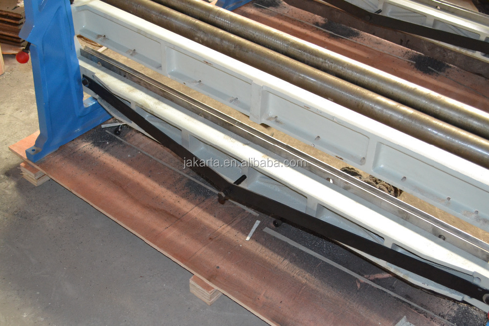 YJD-610 Hand Combination Shear Bend Slip Roll 3 in 1 Machine for Metal Sheet