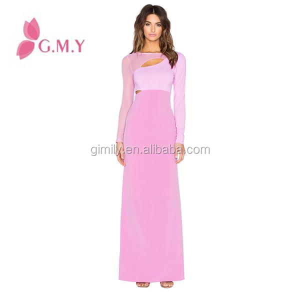Promoción damas de honor morado mangas de los vestidos, Compras ...