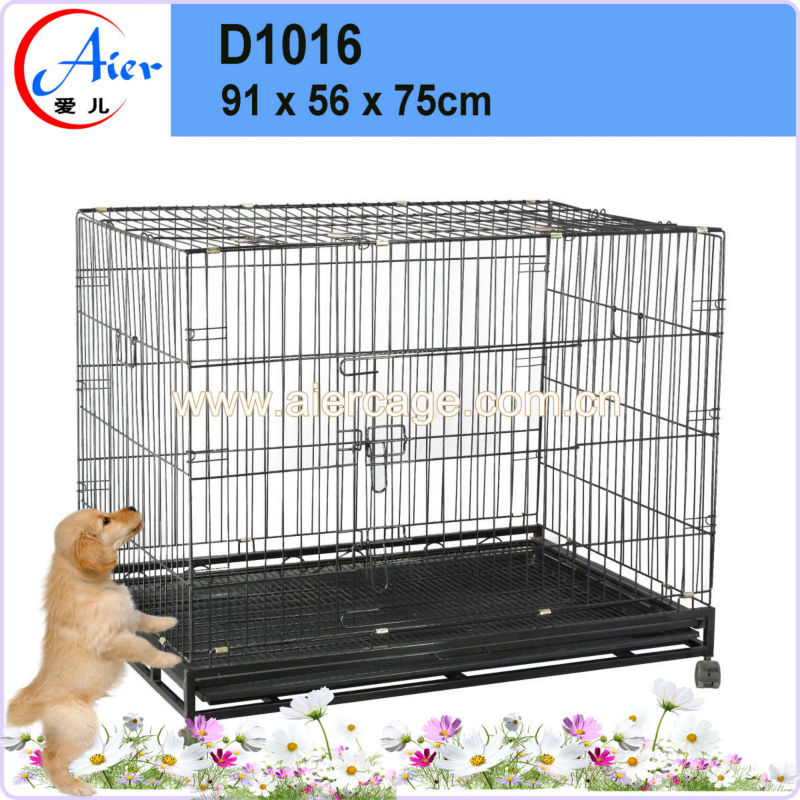 Factory supplier pet cage durable doors dog crate