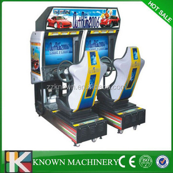 In Gme Hall Coin Operated Maximum Tune Arcade Game Machine ...