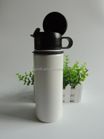 18oz hydro flask BPA free insulated stainless steel drinking water bottle with screwing lid and flip cap
