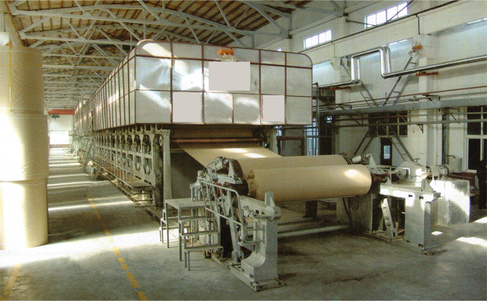 corrugated paper roll machine