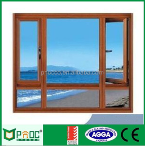 Indian window design,casement,hung,arched,fixed aluminium glass window manufacturer in Shanghai PNOC302