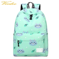 Teenager school bags new design canvas bag laptop backpack