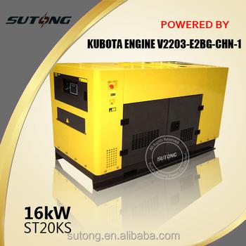 Japanese Engine Kubota 15kw Diesel Generator - Buy 15kw Diesel  Generator,Gas Engine Generator,3 Phase 15kw Generator Product on Alibaba com