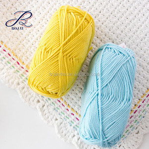 Summer Yarn Hand Knitted Weaving Yarn Super Soft 50% Wool 25% Acrylic 25% Nylon Blend Yarn