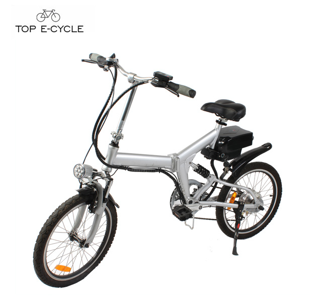 Livelytrip 20 inch 2017 trending products mini portable foldable e bike 250w electric bicycle