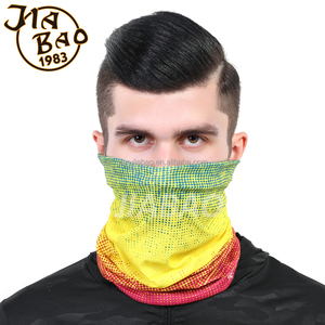 The original multifunctional flag bandana sublimation printing Yowie seamless tube flag bandana