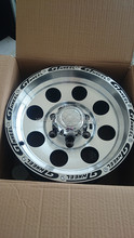 Terbaik jual 16*6.<span class=keywords><strong>5</strong></span> inch 5X130 offroad alloy wheel
