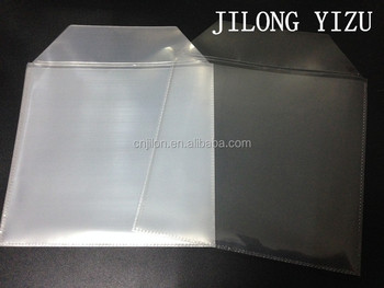 CD DVD Clear Cover Storage Case Bag Plastic