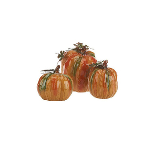 Harvest decoration ceramic pumpkin crafts for sale