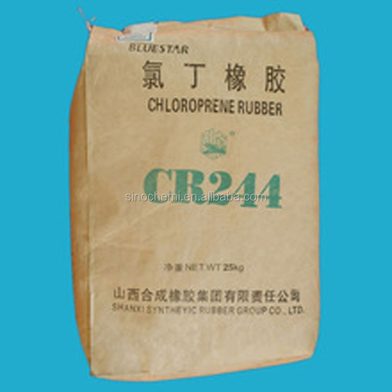 China factory Chloroprene Rubber CR244 best wholesale price