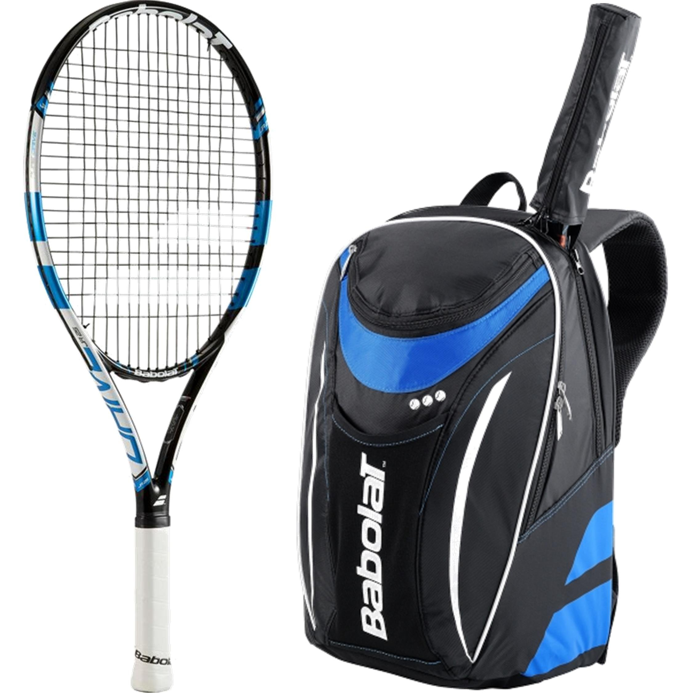 Babolat Pure Drive Junior Tennis Racquet bundled with a Club Tennis Backpack