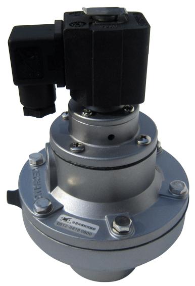 Inline Dust Collector : Inline válvula de solenoide impulsos para el colector