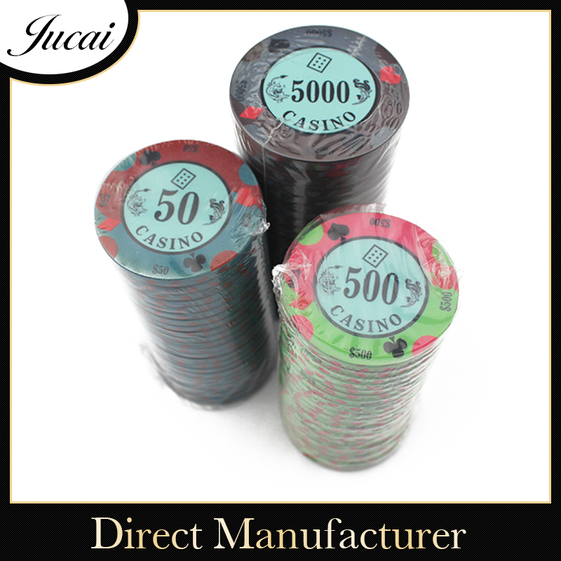 Factory supplies novelty poker chips
