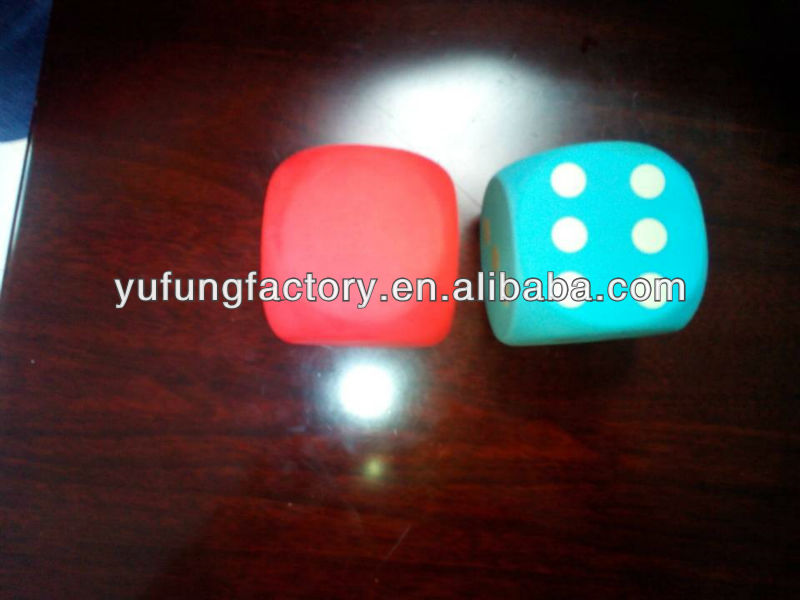 EVA soft dice,dice cubes,playing dice