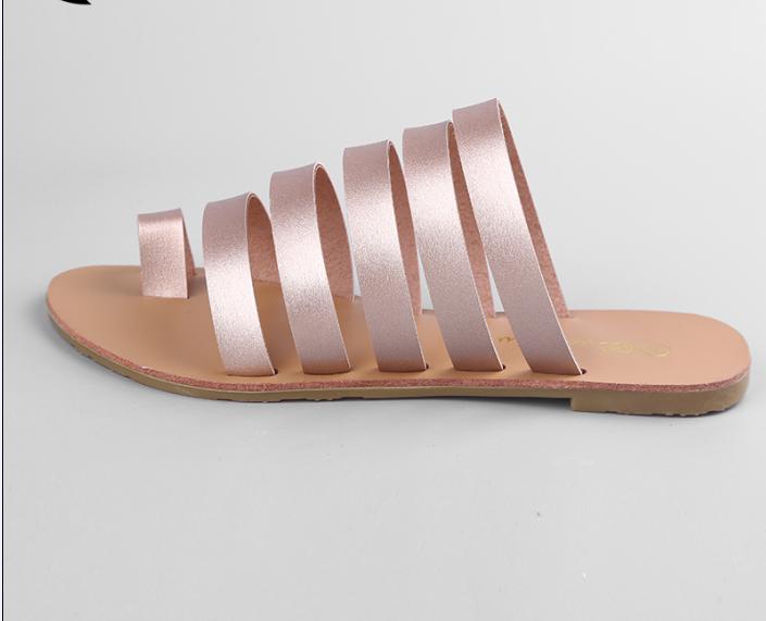 Cx301 2017 Summer Trendy Ladies Flat Sandals - Buy Ladies ...