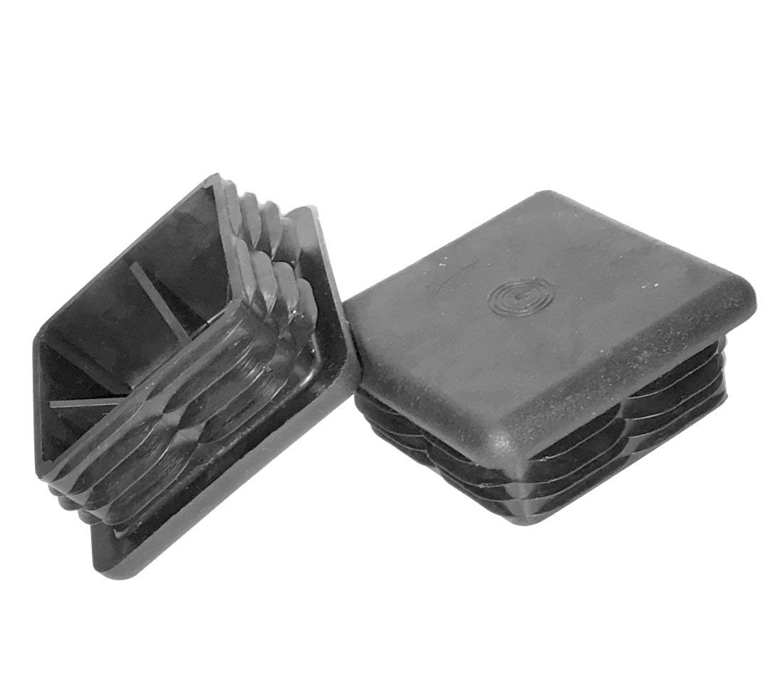 "(Pack of 2) 3"" X 3"" - (80 X 80 MM) Square Plastic Plugs 