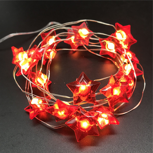 outdoor solar star twinkling laser christmas led string lights for home decoration