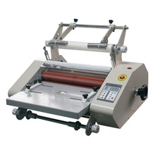 Professionele Enkelzijdige 14 inch Roll Laminator Met Film <span class=keywords><strong>Trimmer</strong></span> (FM-360S)