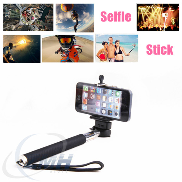 2014 New Monopod Mobile Phone Monopod, Selfie Stick Portable Monopod,Telescopic Monopod
